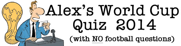 Alex's World Cup Quiz